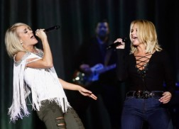 Miranda Lambert Sends the Ultimate Pet Care Package to Carrie Underwood