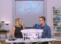 Carrie Underwood Spills Her 'Dirty Laundry' on 'The Tyler Oakley Show'