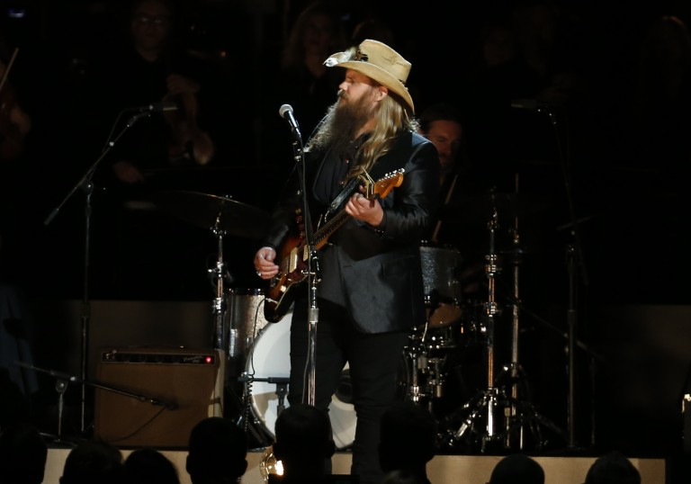 Chris Stapleton Takes Home Trophy for CMA Male Vocalist of the Year