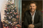 For Chris Young, Decorating the Christmas Tree is a Family Affair