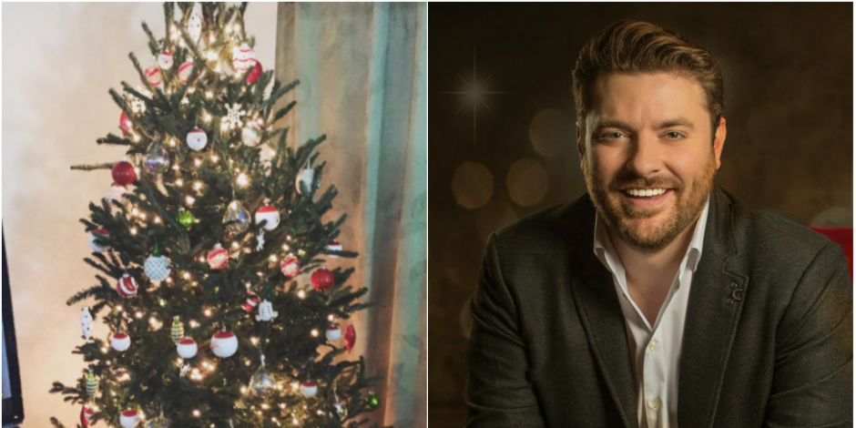 Chris Young Christmas.For Chris Young Decorating The Christmas Tree Is A Family