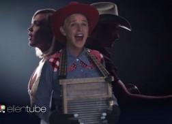 Ellen DeGeneres Channels Forever Country Theme in Spoof Promo