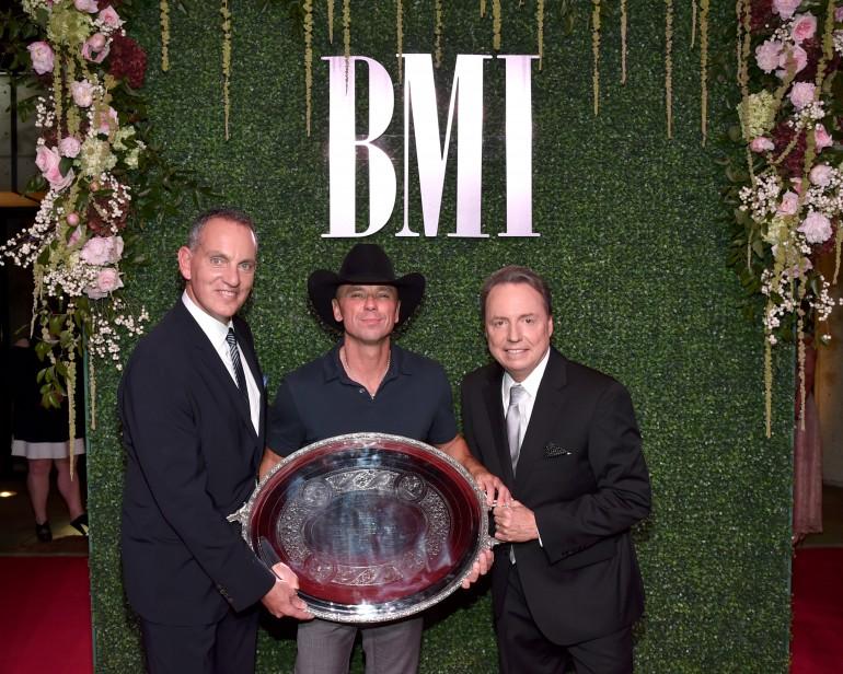Kenny Chesney, Thomas Rhett Receive Top Honors at 2016 BMI Country Awards