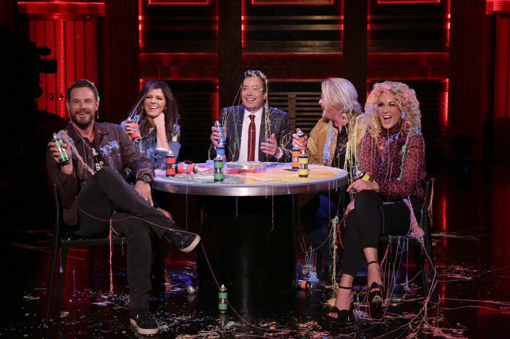 Little Big Town Gets Silly with 'Stranger Strings' on 'The Tonight Show'