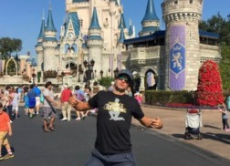 Luke Bryan and Family Have Magical Time at Walt Disney World