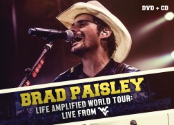 Brad Paisley Announces Life Amplified World Tour Live CD/DVD