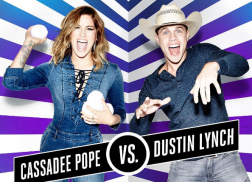 Cassadee Pope and Dustin Lynch Dominate on 'Lip Sync Battle'