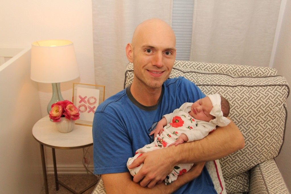 Eli Young Band's Jon Jones & Daughter, Lila, Photo courtesy HBPR