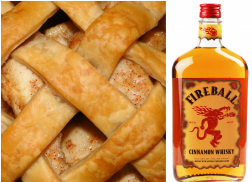 Make This Fireball-Infused Apple Pie for New Year's Eve