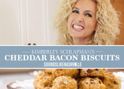 Our Mouths Are Watering Over Kimberly Schlapman's Bacon Cheddar Biscuits