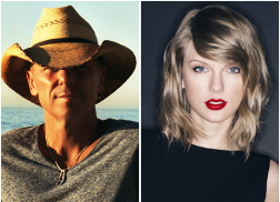 Kenny Chesney, Taylor Swift Make Donations to Aid Wildfire Relief