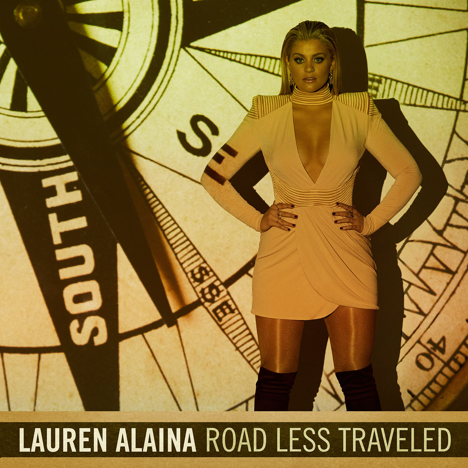 Lauren Alaina, Road Less Traveled Cover Art