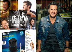 WIN a Karaoke Machine Speaker System + Luke Bryan Greatest Hits Karaoke Vol. 1