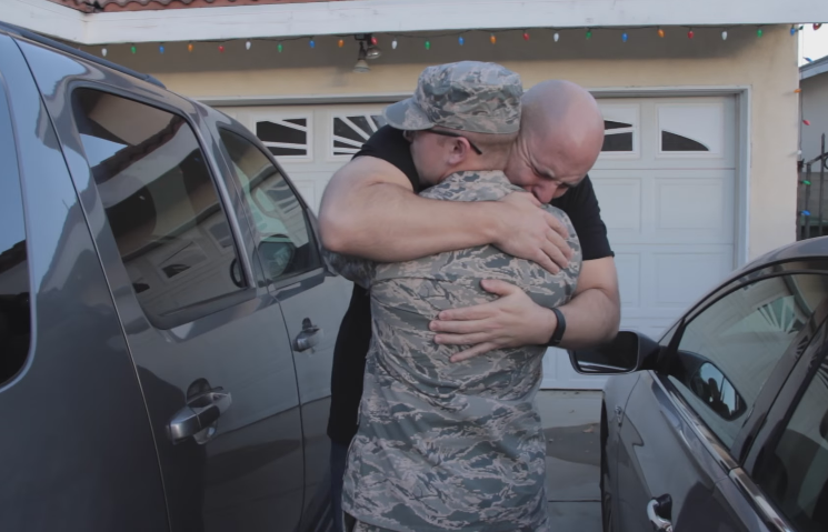 Six of Our Favorite Holiday Military Homecoming Surprises