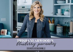 Your Family Will Be 'Flipping' Over Trisha Yearwood's Blueberry Pancakes