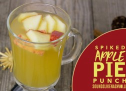 This Spiked Apple Pie Punch Will Get Your Next Christmas Party Going