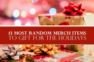 The 13 Most Random Artist Merch Items to Gift for the Holidays