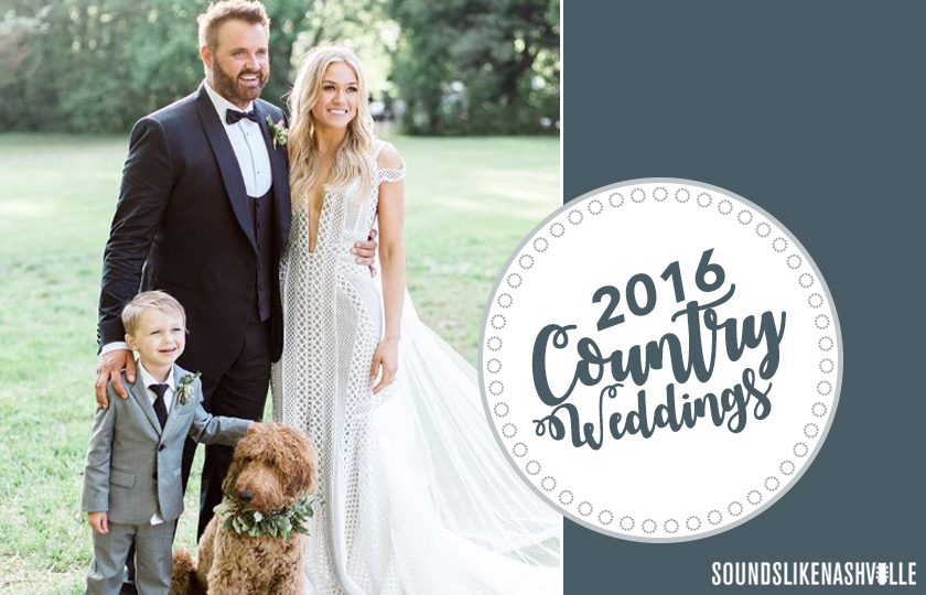 Year in Review: 2016\'s Country Weddings   Sounds Like Nashville