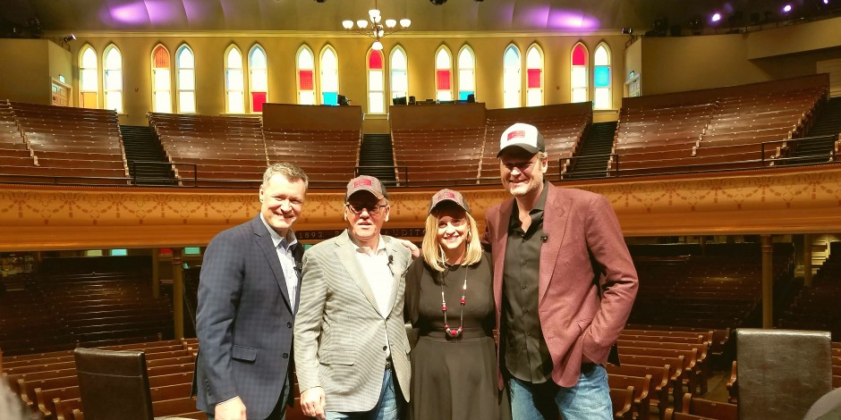 Blake Shelton, Ryman Hospitality to Open Entertainment Venue in