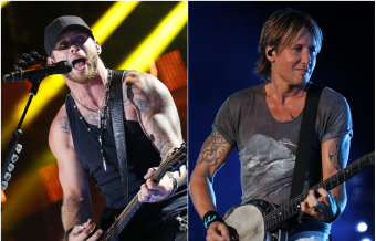 Brantley Gilbert Says Keith Urban Saved His Life