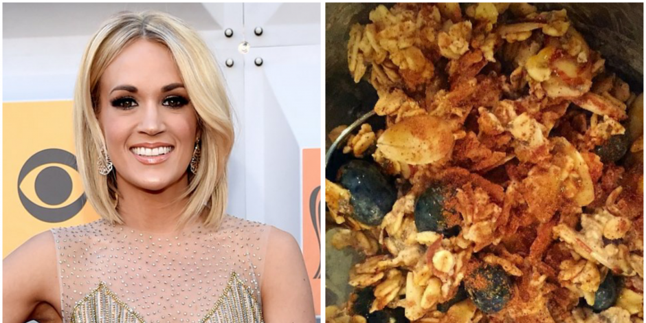 Get Fit With Carrie Underwood's Yummy Overnight Oats Recipe