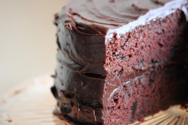 Celebrate National Chocolate Cake Day with This Mouth-Watering Chocolate Cake