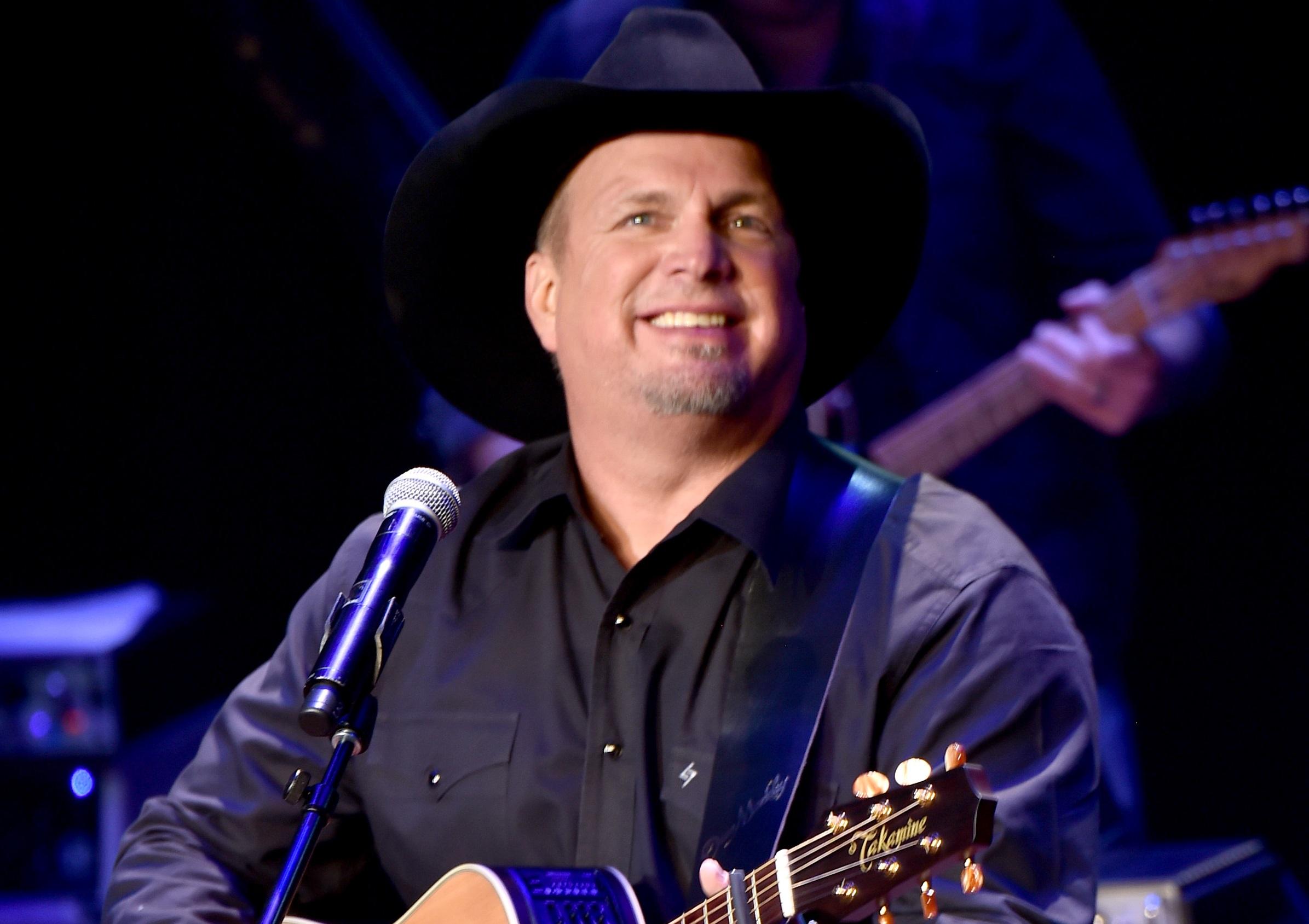 Garth Brooks Debuts New Single, 'All Day Long'