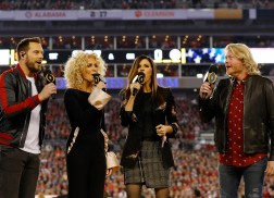 Little Big Town Slay Performance of National Anthem at College Football National Championship