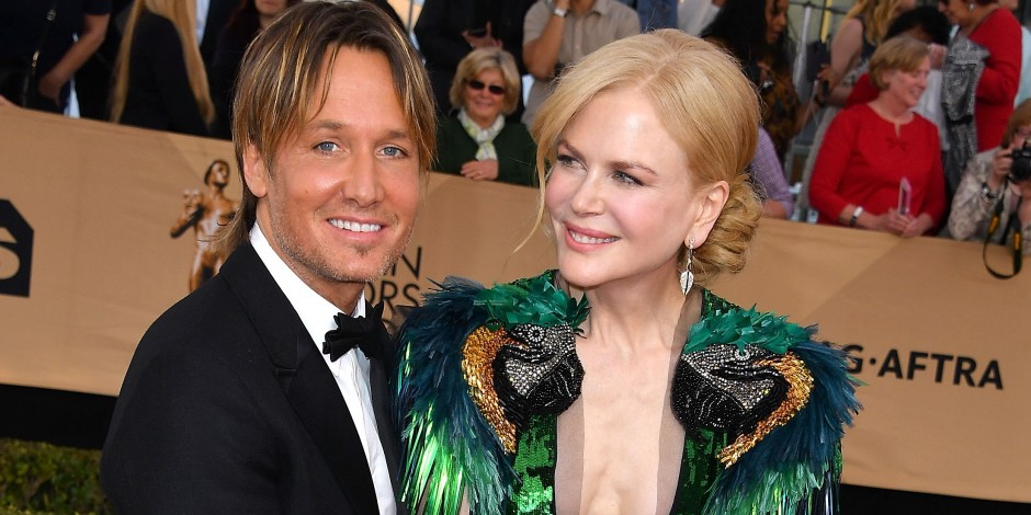 Nicole Kidman and Keith Urban Pack on PDA During SAG Awards Red Carpet