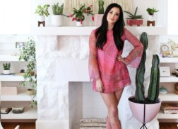 Go Inside Kacey Musgraves' Sleek New Living Room