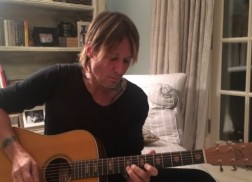 Keith Urban Honors Late Music Icons in Touching Acoustic Tribute