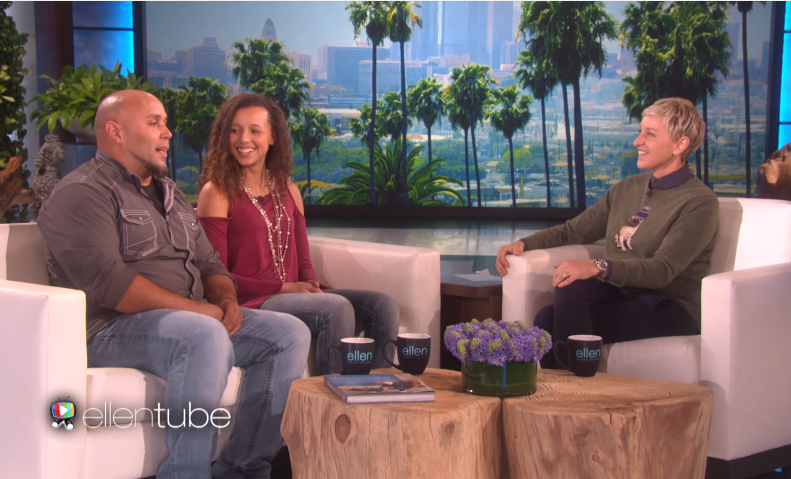 Singing Dad in 'Tennessee Whiskey' Viral Video Visits 'The Ellen Show'