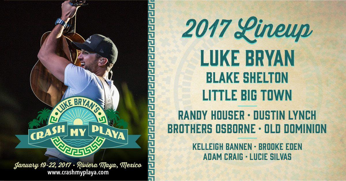 WIN a Trip to Luke Bryan's Crash My Playa 2017