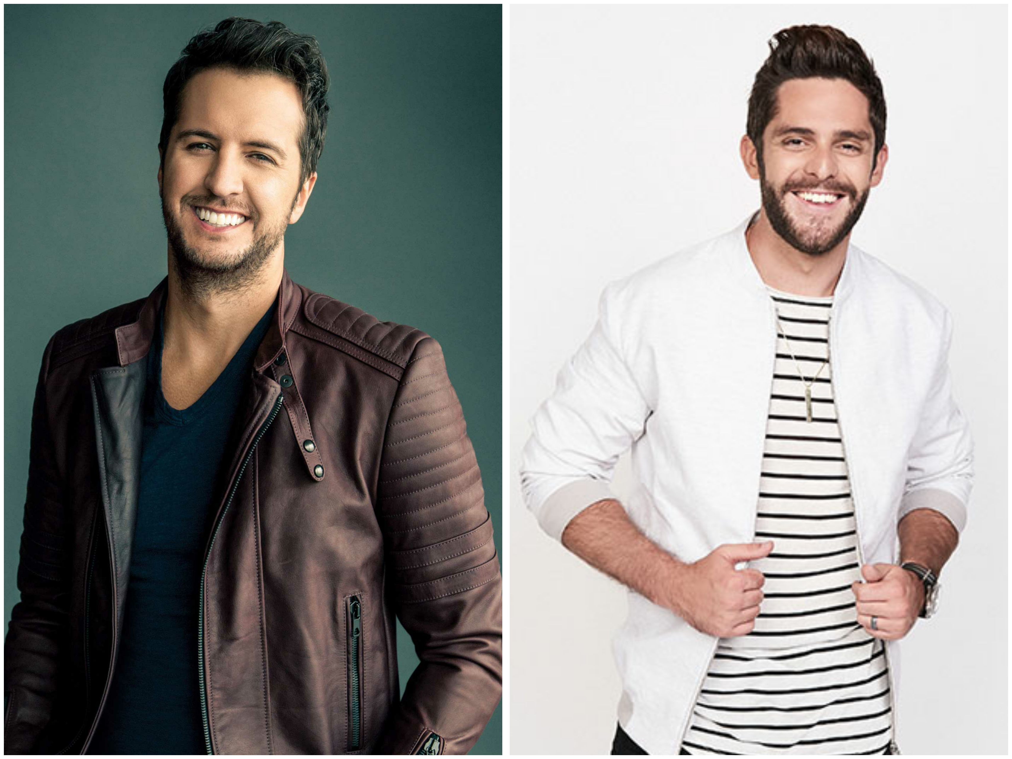 Thomas Rhett, Luke Bryan Among Country Nominees for 2017 iHeartRadio Music Awards
