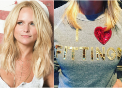 Get The Look: Miranda Lambert's Blinged Out Bow & Drape Sweater