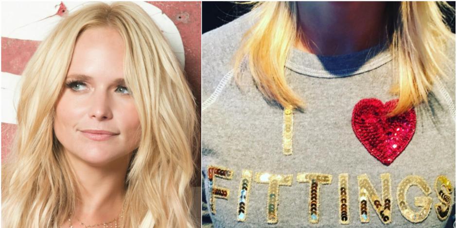 Get The Look: Miranda Lambert's Blinged Out Bow & Drape Sweater