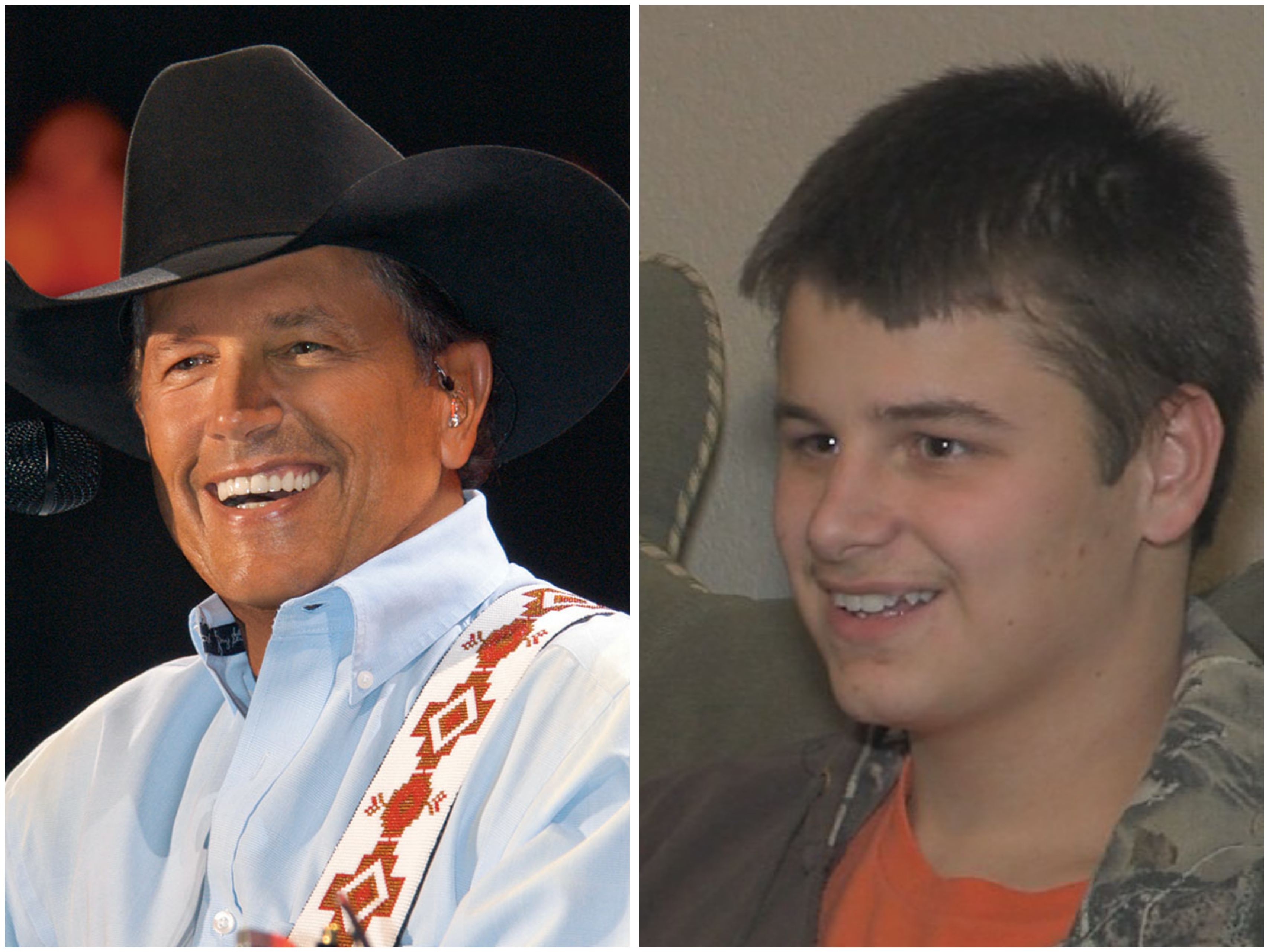 George strait fan receives the surprise of a lifetime before going george strait fan receives the surprise of a lifetime before going deaf m4hsunfo Gallery