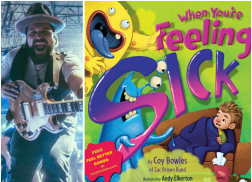Zac Brown Band's Coy Bowles Pens New Children's Book, 'When You're Feeling Sick'