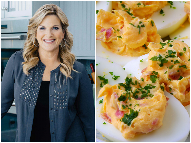 Trisha Yearwood's Sour Cream and Bacon Deviled Eggs Put a New Twist on an Old Favorite