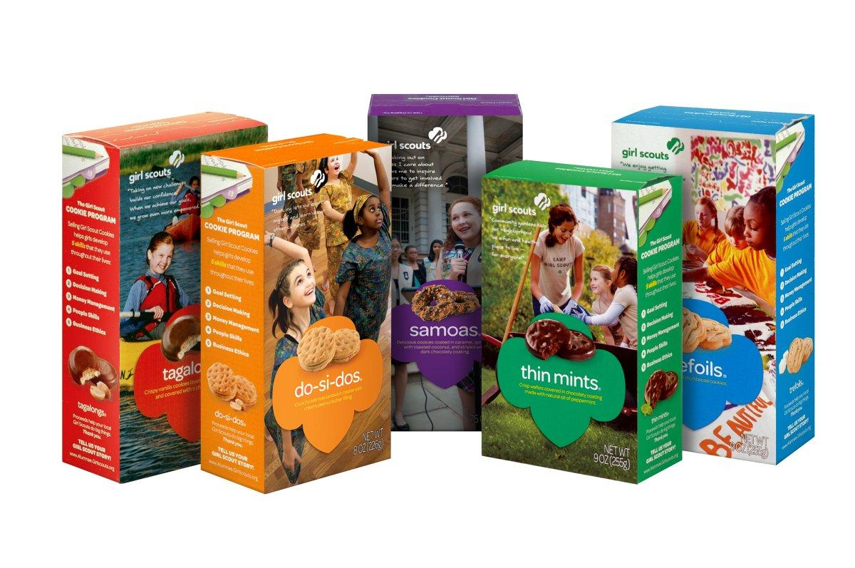 girl scout cookies a very un scientific ranking sounds