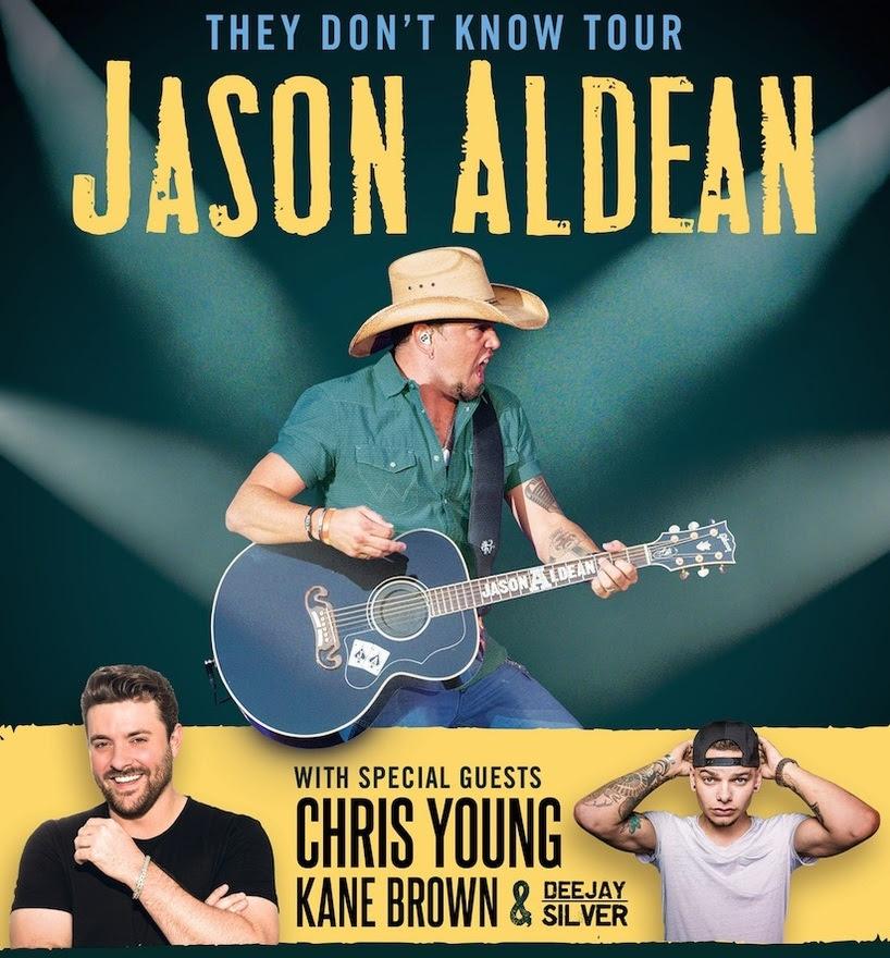 Jason Aldean Announces Massive They Don't Know Tour