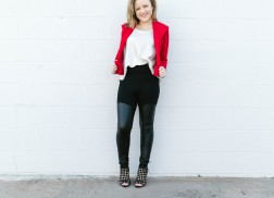 Three Looks Inspired by MINXX Leggings to Look Gorgeous on Valentine's Day