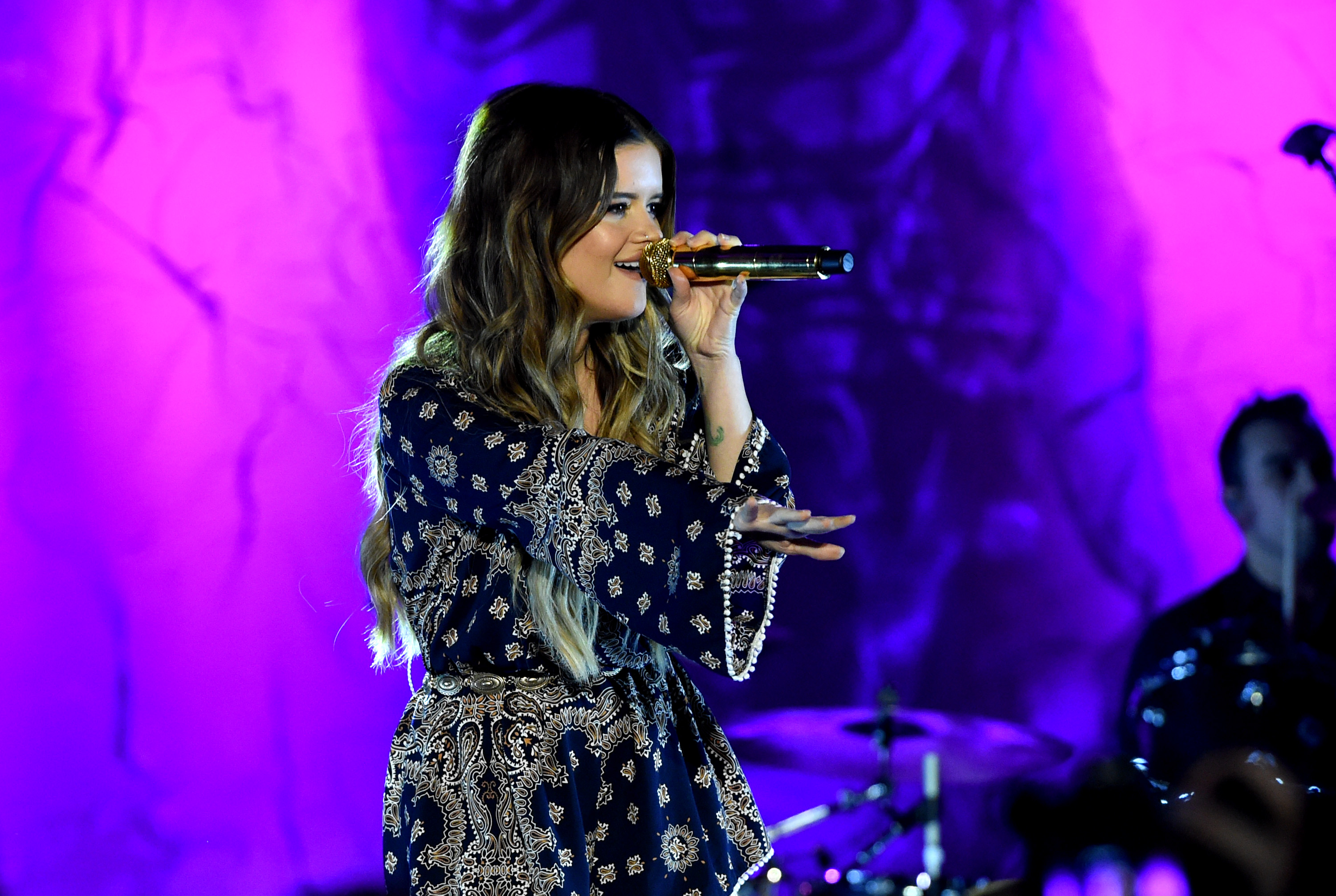 Maren Morris; Photo by Rick Diamond/Getty Images for CRS