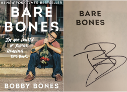 WIN an Autographed Copy of Bobby Bones' 'Bare Bones' in Paperback