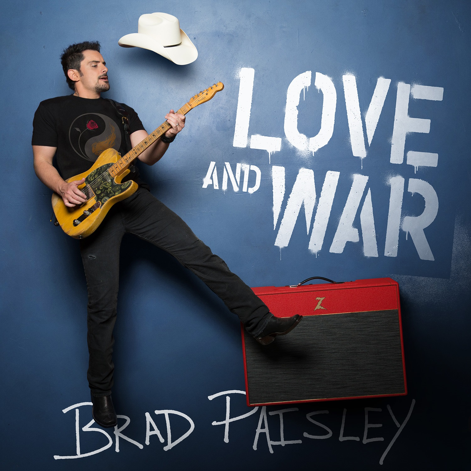 Brad Paisley; Cover art courtesy Sony Music Nashville