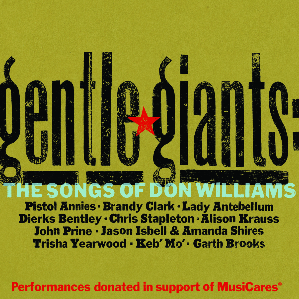 Gentle Giants: The Songs of Don Williams; Cover art courtesy Essential Broadcast Media