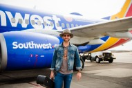 Drake White Takes His Music to the Sky for Surprise In-Flight Concert