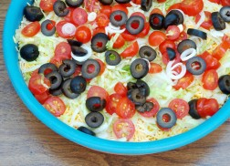 Get Ready for the Big Game with this Seven Layer Dip