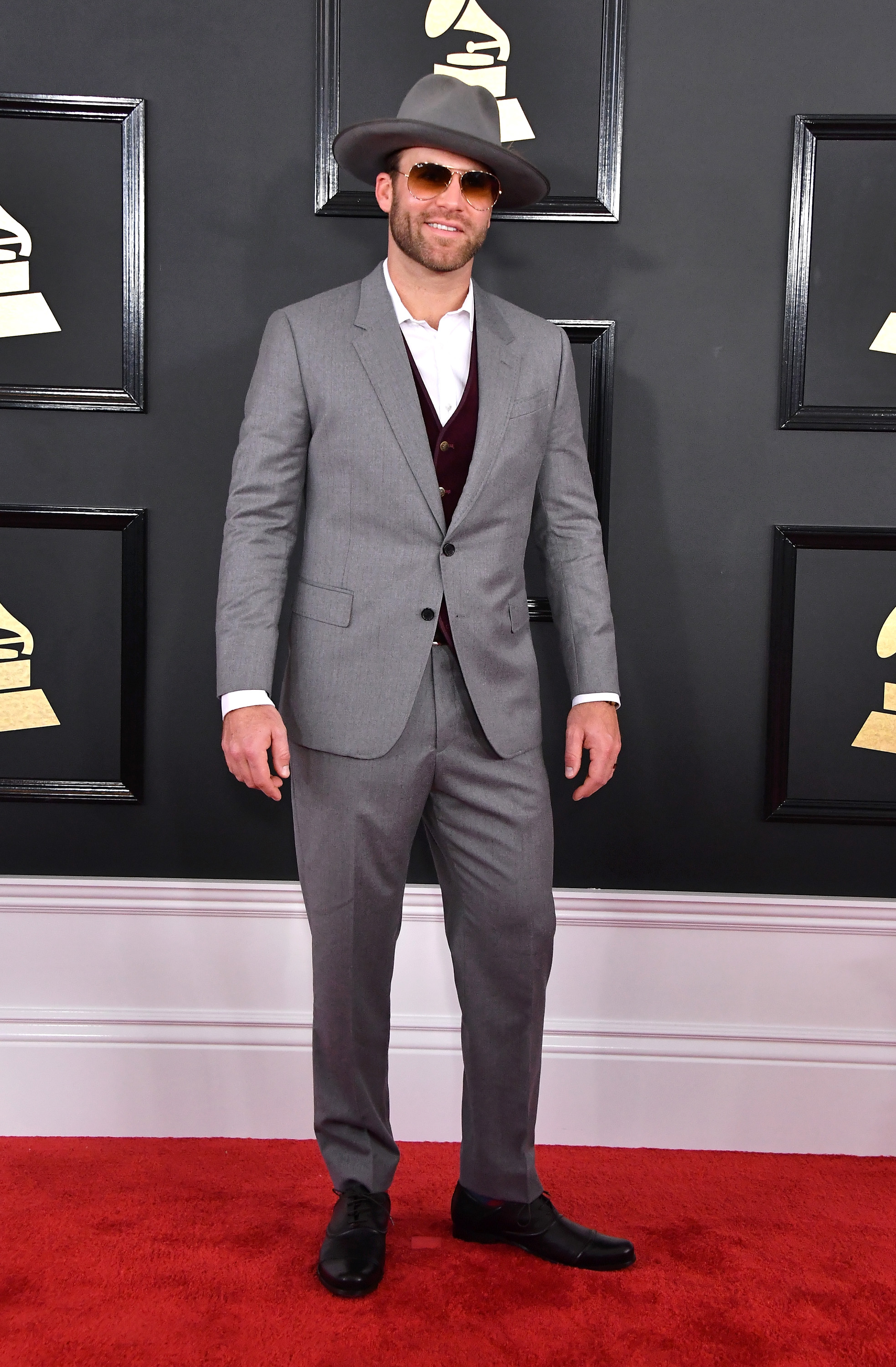 Drake White attends The 59th GRAMMY Awards at STAPLES Center; Photo by Steve Granitz/WireImage