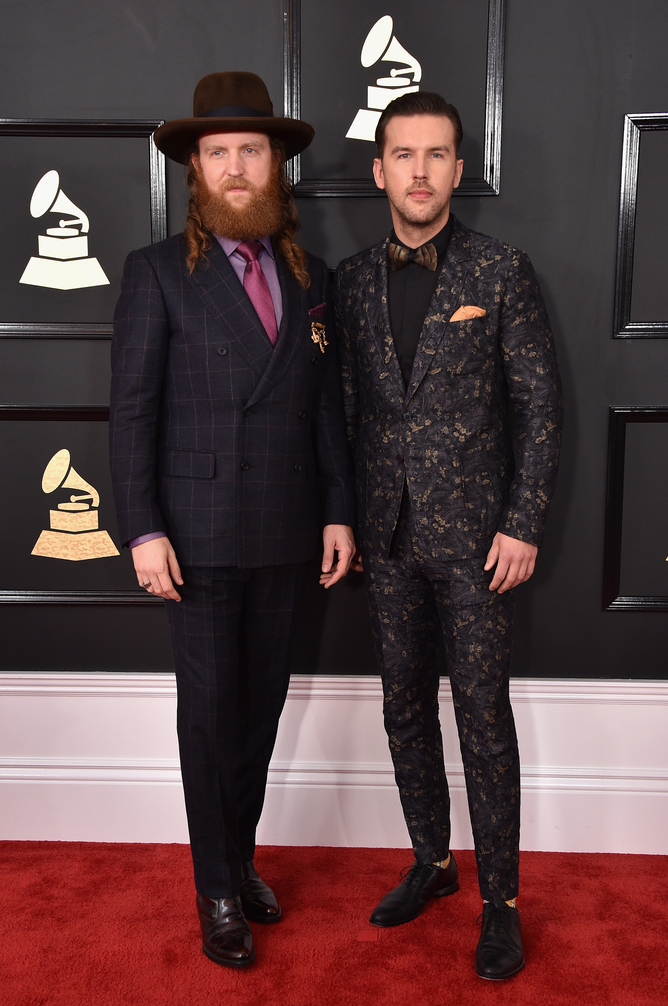 Brothers Osborne attend The 59th GRAMMY Awards at STAPLES Center; Photo by John Shearer/WireImage